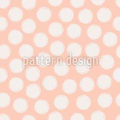 Handgezeichnete Punkte Vektor Ornament by Orangeberry at patterndesigns.com