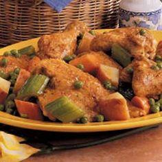 Skillet Chicken Supper