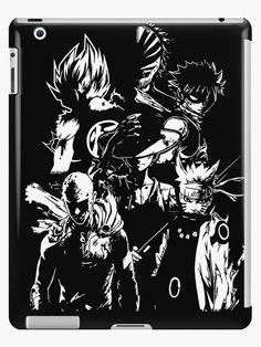Naruto, Luffy,Goku, Natsu, ichigo, Saitama epic artwork iPad Cases & Skins #naruto #narutoshippuden #DBZ #onepiece #dragonball #fairytail #bleach #onepunchman #epic #kickass #black #anime #manga #mensfashion  #women #womensfashion #fashion  |t shirt design | t shirt | t shirt dress | t shirt cutting | t shirt diy | Dakpeon T-shirt Design | Cloth Fusion = Custom T-Shirts No Minimum | T Shirt Gifts | fun T-shirts | t-shirt crochet bag | T-shirt Redoux | hoodies | hoodies for teens |