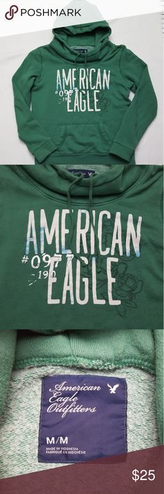 American Eagle Cowl Neck Hoodie AE hoodie in excellent condition, only worn a couple of times. American Eagle Outfitters Tops Sweatshirts & Hoodies