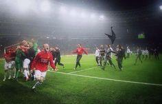 2008 European Cup Final celebrations!
