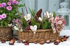 Klepněte pro větší obrázek Fall Decor, Diy And Crafts, Basket, Pumpkin, Autumn, Spring, Garden, Plants, Google