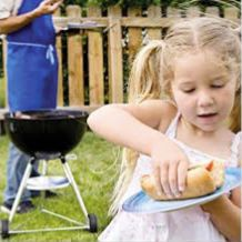 Why do we barbecue?   It's a great way to spend more time at home   It tastes so good   It's convenient and easier than cooking inside
