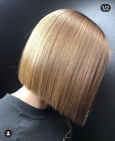 Medium Bob Hairstyles, Straight Hairstyles, Straight Long Bob, Short Hair Dont Care, Thistle Wedding, Blunt Haircut, Hair Color Asian, Hair Cutting Techniques, Super Long Hair