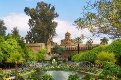 Les plus beaux châteaux de l'Espagne. L'Alcazar des Rois Chretiens de Cordoue