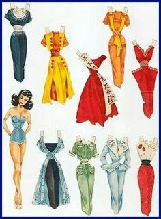 Pin up paper doll!
