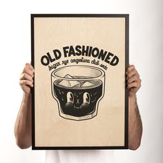 Old Fashioned Print  by Dudes Factory