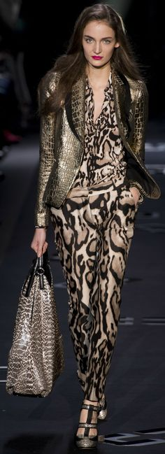 Diane von Furstenberg Collections Fall Winter 2013-2014 | The House of Beccaria#