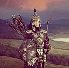 Mongolia, Elven Woman, Zombie Army, Tribal Face, Female Soldier, Warrior Girl, Central Asia, Women In History, Female Portrait