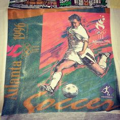 In 1996, the US Women's Soccer team won their first gold medal! One of our favorite t-shirts.
