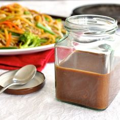 Restaurant SECRETS: They have a secret all purpose stir fry sauce base! Create in 2 minutes, store it for weeks.