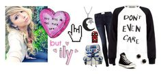 """""""Durarara Oc"""" by david-strider-coolguy ❤ liked on Polyvore featuring Frame Denim, Inouï, Être Cécile, Converse, R2, Kate Spade and Jewel Exclusive"""