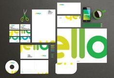 Yelloblue - #Branding Corporate identity by Sami Joe Mansour, via Behance