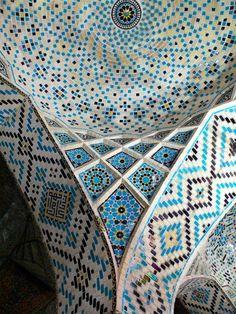 Mezquita Nasir al-Mulk... Una obra de arte!