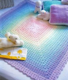 Tığ battaniye
