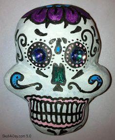 Mexican Dia de los Muertos Skull