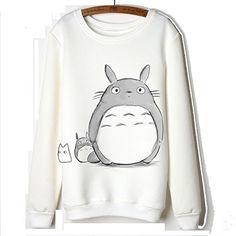 Jw Autumn Women Cute Totoro Long Sleeve Fleeces Hoodies JW http://a.co/jevX5hr