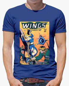 Camiseta Wings comics A