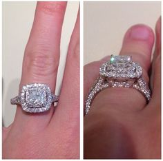 2ct Neil Lane want! and yes that is my finger perks of working at kay jewelers!