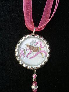 Breast Cancer Jewelry Angel