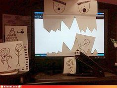 Have You Ever Been So Bored At Work, That You Did This? � 25 Pics