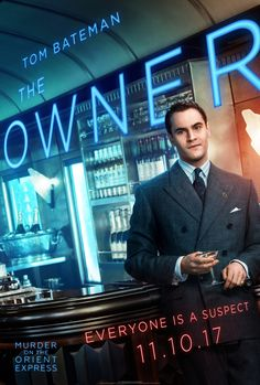 Murder on the Orient Express - Tom Bateman as the owner