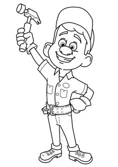 Print Coloring Image Disney PagesColoring BooksColouringWreck It RalphDrawing
