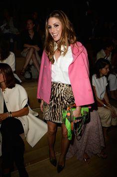 Olivia Palermo - PFW: Front Row at Valentino
