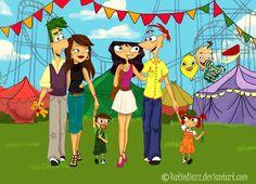 Phineas and Fern's Family Old Disney, Disney Xd, Disney Marvel, Disney Memes, Disney Fan Art, Cute Disney, Disney And Dreamworks, Disney Cartoons, Disney Pixar