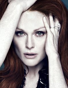 "lesbeehive: ""Julianne Moore by Driu & Tiago for Interview Russia, November 2014 """