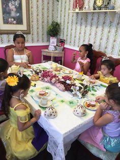 Princess Tea Party Love My Job