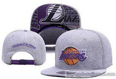 NBA Los Angeles Lakers Soft wool Snapback Hats Gray Nba Snapbacks 014b14178ffe