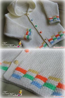 Kukuleta ile Çocuk ceketi - Örgü - Ev Moms: Source by Clothing Baby Knitting Patterns, Baby Sweater Patterns, Baby Cardigan Knitting Pattern, Knit Baby Sweaters, Knitted Baby Clothes, Knitting Charts, Knitting For Kids, Knitting Stitches, Knitting Designs