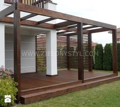 Would you like to have a beautiful pergola built in your backyard? You may have a lot of extra space available for something like this, but you'll need to focus on checking out different pergola plans before you have anything installed. Pergola Attached To House, Deck With Pergola, Cheap Pergola, Outdoor Pergola, Backyard Pergola, Patio Roof, Covered Pergola, Diy Patio, Pergola Plans
