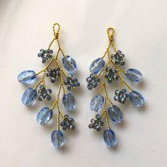 Handmade Wire Jewelry, Wire Wrapped Jewelry, Beaded Earrings, Beaded Jewelry, Jewellery, Diy Jewelry Inspiration, Jewelry Making Beads, Polymer Clay Jewelry, Fashion Jewelry
