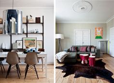 design attractor: Retro Nostalgic Home of Charlotte Adrian