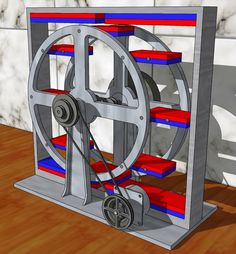 this is free energy Diy Electronics, Electronics Projects, New Electronic Gadgets, Diy Generator, Perpetual Motion, Energy Projects, Sustainable Energy, Mechanical Design, Alternative Energy