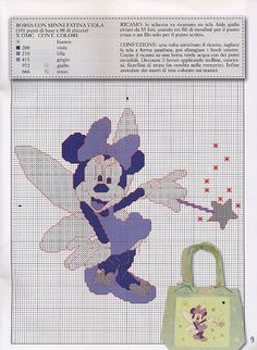 Like the idea of using this for grandaughter's toothfair pillow... a huge Minnie Mouse fan