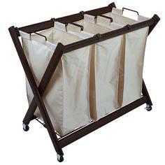 Laundry Cart, Laundry Bin, Laundry Room Storage, Laundry Room Design, Laundry Rooms, Laundry Sorting, Laundry Closet, Bathroom Storage, Storage Spaces