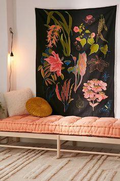 Botanical Chart Tapestry