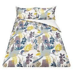 Buy John Lewis Scandi Astrid Print Cotton Duvet Cover and Pillowcase Set Online at johnlewis.com