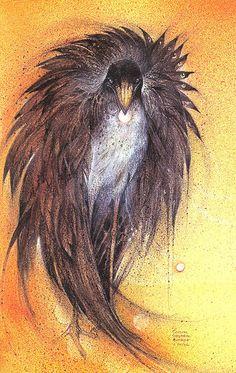 """Spirit Bird"" par Susan Seddon Boulet"