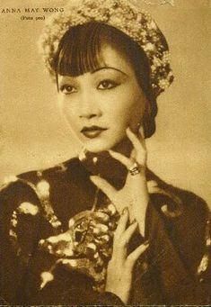 Old Hollywood Glamour, Hollywood Actor, Vintage Hollywood, Silent Film Stars, Movie Stars, Asian American Actresses, Anna May, Jazz, Prettiest Actresses