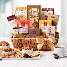 Thank You Gift Baskets - Regal Thank You Gift Basket Thank You Gift Baskets, Gourmet Gift Baskets, Thank You Gifts, Gifts For Her, Thanksgiving Gifts, Toffee, Truffles, Goodies, Treats