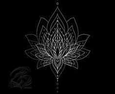 geometric lotus mandala - Google Search by lesa