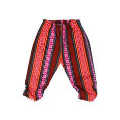 Pants STRIPES FLAME – Pan Pantaloni Summer Tribes 2015 collection for kids, light cotton pants. #fashion #kids #natural #summer #grandbazaar
