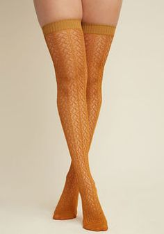 720cb953e To the Pointelle Thigh Highs in Cumin
