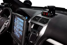 Ford Police Interceptor Utility vehicle - interior view