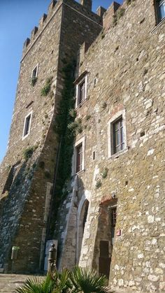 Medieval castle in manciano