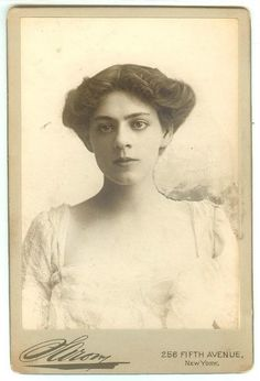 She was the daughter of Maurice and Georgie and sister of Lionel and John and a great actress in her own right. A rare original Sarony cabinet photo circa 1903 of Ethel Barrymore in Peter Pan author James M. Barrie's play Alice Sit-by-the-Fire. Light wear otherwise fine.  A beautiful pose.| eBay